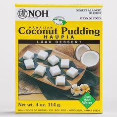 Noh Hawaiian Coconut Pudding Haupia Mix | World Market