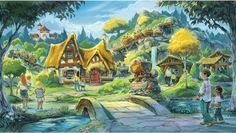 Seven Dwarfs Mine Train Coaster, Magic Kingdom, Walt Disney World