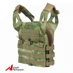 Tactical Outdoor Kids Children Mini Molle Jump Plate Carrier JPC Vest