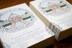 Kathryn Whyte Design & Illustration Save the Dates