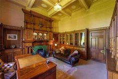 Tillycorthie Mansion House, Udny, Ellon, Aberdeenshire, 11 bed detached house for sale - Mansion House For Sale, Oak Fire Surround, Aberdeenshire Scotland, Corner Bath, Purple Rooms, Commercial Property For Sale, Christmas Room, Mansions Homes, Old House Dreams