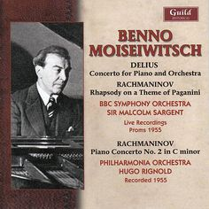 "De álbum ""Benno Moiseiwitsch (1890-1963) - Live from the Proms, Sept. 1955 & Abbey Road Studios, Aug. 1995"" del Benno Moiseiwitsch - Piano en Napster"