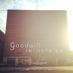 our goodwill is not nearly this magical looking!