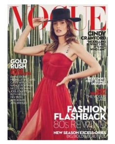 Cindy Crawford - Vogue Magazine Cover [Australia] (March 2017)