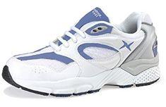 46eacc7cf3 Aetrex Women's Boss Runner Sneaker-White/Periwinkle Review Periwinkle, Orthopedic  Shoes For Men