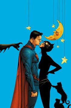 Superman and Catwoman - Jae Lee