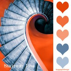 color board - stairway love