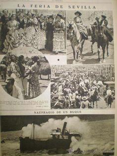La Feria de Seville 1936.
