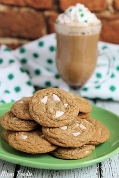 Want your Irish Coffee and eat it too? These Irish Coffee cookies are just the answer you are looking for! The Making of Irish Coffee Cookies This Irish Coffee Cookies recipe was developed as a Irish Recipes, Top Recipes, Coffee Recipes, Sweet Recipes, Recipies, Baileys Irish Cream Coffee, Irish Coffee, Iced Coffee, Irish Whiskey