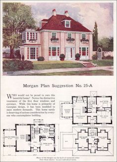 This is the Morgan Plan from 1923... and I LOVE IT!  I so was born in the wrong decade!