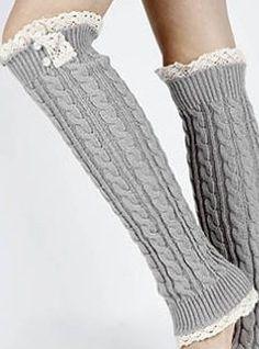How To 32 Free Patterns to Make Crochet Leg Warmers - Page 10 of 31 - apronbasket .com - crochet - Crochet Baby Cardigan, Knit Cardigan Pattern, Crochet Leg Warmers, Crochet Slippers, Crochet For Kids, Easy Crochet, Burgundy Skater Skirt, Crochet Pillow Patterns Free, Knitting Patterns