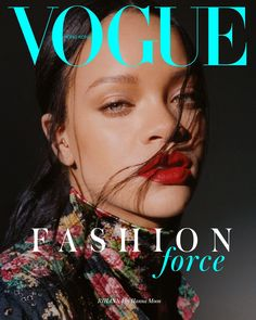 Rihanna teams up with Vogue Hong Kong for a striking cover shoot by fashion photographer Hanna Moon. In charge of the styling was Fashion Stylist Anya Ziourova who with the magazine dressed Rihanna in total Vogue Covers, Vogue Magazine Covers, Fashion Magazine Cover, Fashion Cover, Vogue Vintage, Vogue Korea, Rihanna Vogue, Cover Shoot, Rihanna Cover