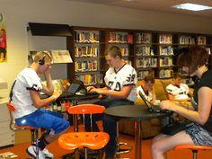 MNW High School library