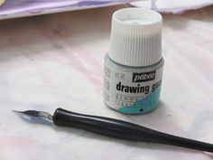 Birgit O'Connor Watercolor: Tips: Tools to Apply Masking Fluid