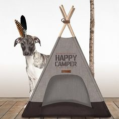 Tipi Happy Camper taupe - Made in Dog