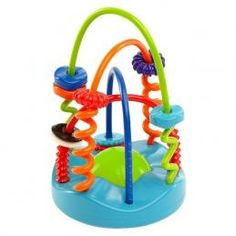 Oball Sliding Spirals Chaser – A wire maze with a twist! The plastic disks on this Spiral Chaser are larger and the base features less twists and turns so kids can slide a bit easier. Baby Activity Toys, Infant Activities, Baby Letters, Toys R Us Canada, Special Needs Kids, Bath Toys, Toy Store, Bright Colors, Cleaning Wipes