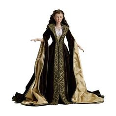 Gone with the Wind Scarlett O'Hara Dressing Gown Tonner Doll - Tonner - Gone with the Wind - Dolls at Entertainment Earth