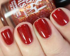 Girly Bits Little Red Toque | Holiday Magic Collection | Peachy Polish