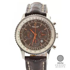#Breitling Montbrillant Gents Stainless Steel Automatic #Watch