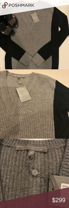 """NWT• Derek Lam Cashmere • Silk Sweater NWT Derek Lam Cashmere & Silk Sweater women's size Medium. Can fit a S/M absolutely classic and sophisticated. Measurement armpit to armpit 21"""" length is 26"""" Derek Lam Sweaters Crew & Scoop Necks"""