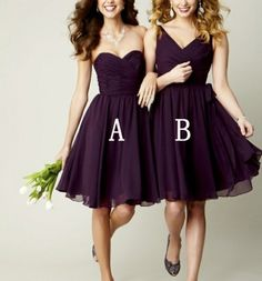 Cheap gown bridesmaid, Buy Quality dresses and gowns directly from China dress up wedding gowns Suppliers: Purple Bridesmaid Dresses Short Bridesmaid Dress Chiffon Beach Bridesmaid Dress Knee Length Short Wedding Party Bridesmaid Gown Blue Bridesmaids, Wedding Bridesmaids, Wedding Attire, Sequin Bridesmaid, Bridesmaid Color, Winter Bridesmaids, Purple Groomsmen, Lavender Bridesmaid, Junior Bridesmaids
