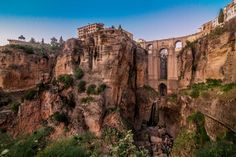 The Puente Nuevo in Ronda has to be one of the most beautiful bridges on the…