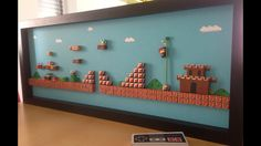 3D Paper Dioramas Of Classic Videogames [10 Photos] | The Roosevelts