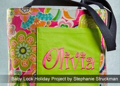 Totally Cute Tote - Tote bags make a great gift! Personalize the tote with fabric the recipient will love! This tote is so quick and easy, you'll really enjoy making it!