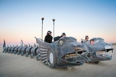 QGeekBooks • 5 Creative Geniuses Behind Burning Man