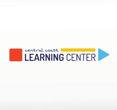 The Central Coast Learning Center logo uses building blocks to convey the skill-building services it offers to students, while also incorporating a youthful look and feel to appeal to moms of children who are struggling in school. #logo #logos