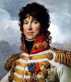 Joachim Murat, brother in law of Napoleon. Born as the son of an innkeeper,  later became King of Naples