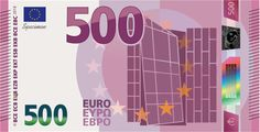 500 Euro banknote series 2 (Europe series) concept - My CMS Lion Wallpaper, Travel Money, Graphic Design Art, Cash Cash, Coins, Europe, Banknote, Houses, School