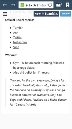 rensalexis workout routine alexis rens Rens Workout routineYou can find Alexis ren ab workout challenge and more on our website Workout Pics, Abs Workout Video, Ab Workout At Home, Model Workout, Workouts For Teens, Abs Workout For Women, Ab Workouts, Alexis Ren Workout, Teenager Training
