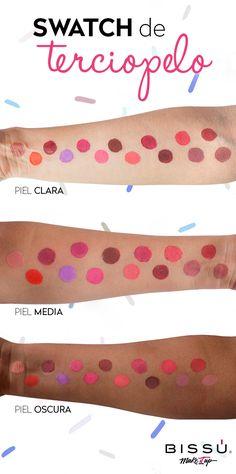 Descubre el NUEVO Tinta Mate y conoce cómo luce toda la colección en los diferentes tonos de piel.