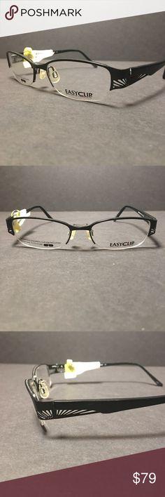 Easy Clip Aspex Eyeglasses 48 X 16 X 135mm Easy Clip Aspex Eyeglasses 48 X 16 X 135mm easy clip Accessories Glasses