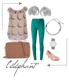 """""""Elephant"""" by lindseybates on Polyvore featuring Paul by Paul Smith, Journee Collection, NOVICA, Just For You, Larsson & Jennings, Chico's and Michael Kors"""
