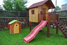 Jakou skluzavku pro děti na zahradu? - - Zahrada