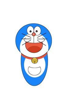 Doraemon #Dibujo #GIMP