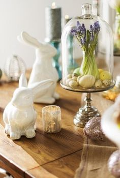 Bell jar/Cloche for Easter