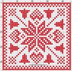 Julen nærmer seg med stormskritt, og sammen med den, nye idèer til… Knitting Charts, Knitting Patterns, Crochet Patterns, Honeycomb Stitch, Crochet Potholders, Fair Isle Pattern, Seed Stitch, Fair Isle Knitting, Double Knitting