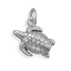 Sea Turtle Charm. I want this for my charm bracelet :)