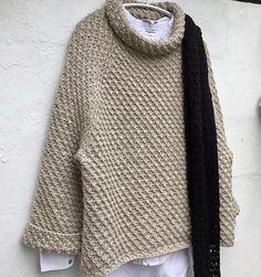 Ravelry: Windbreaker by Lone Kjeldsen – Knitting and crochet … – The Best Ideas Aran Knitting Patterns, Knit Patterns, Free Knitting, Fair Isle Knitting, How To Purl Knit, Knit Fashion, Pulls, Knit Crochet, Free Crochet