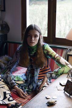 Publication: Russh Magazine December 2014 Model: Kremi Otashliyska Photographer: Benjamin Vnuk Fashion Editor: Verity Parker Hair: Joseph Pujalte Make-up: Hugo Villard