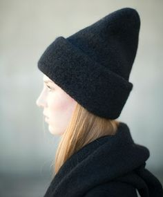 Lauren Manoogian Black Carpenter Hat