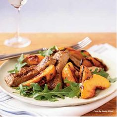 Awesome Recipe: Grilled Peaches and Pork