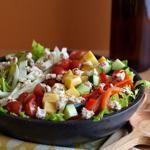 Greek Salad with Pickled Beet