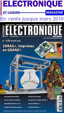 Electronique et Loisirs Magazine 145 Arduino, Sauce Française, Magazine, Raspberry, Books, English, Craft, Electronic Circuit, Astronomy