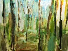 El bosque - Acrílico sobre tela - 146x195