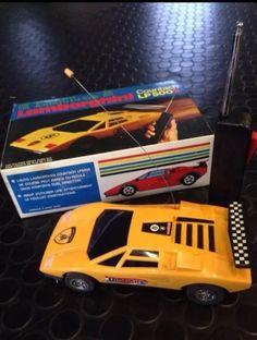 Antiguo Coche Teledirigido Lamborghini