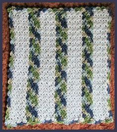 Quick Stitch Preemie Afghan Pattern
